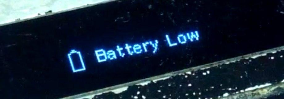 Почему боксмод пишет battery low или lock?