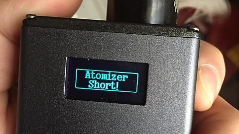 Atomizer short Wismec RX200, Joyetech Cuboid, Eleaf iStick